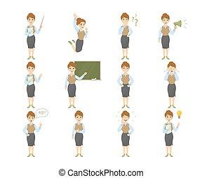 set., prof, emoji