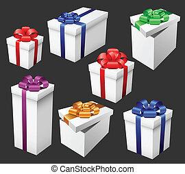 set, regalo
