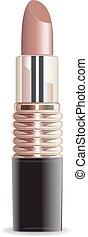 set, rossetto, fondo, isolato, vector., bianco