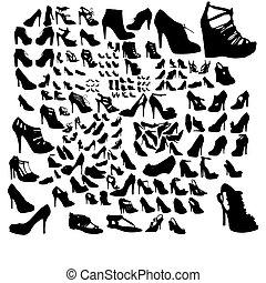 set, scarpe