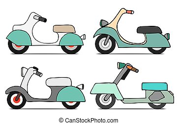 Set scooters