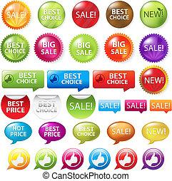 Set Selling Badges