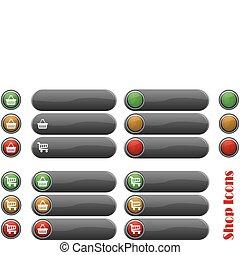 set shop icons