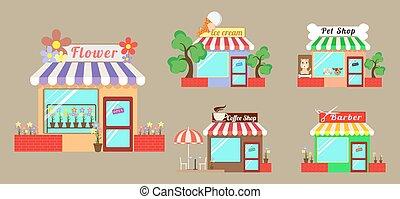 set shop service
