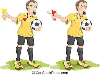 Set soccer referee