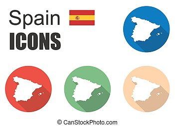 set spain icons