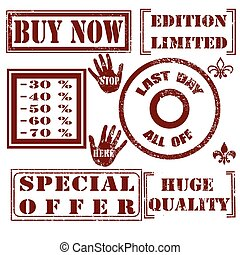set stamp special offer
