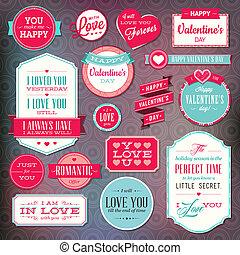 set, stickers, kentekens
