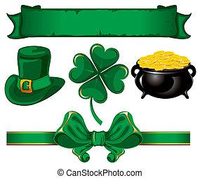 Set to St. Patrick's Day