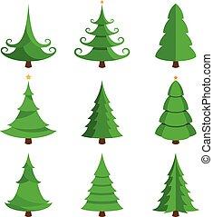 set., träd, jul