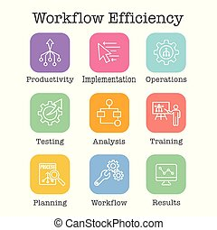 set, uitwerken, automatisering, doelmatigheid, workflow, -,...