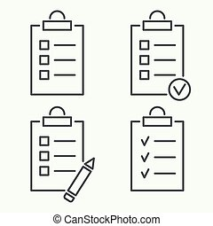 Set vector icons.
