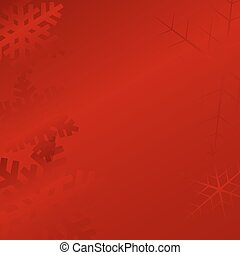 Set vector illustration of snowflakes
