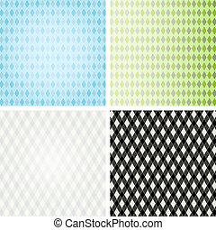 Set vintage patterns