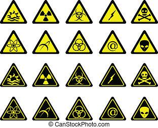 set, waarschuwingsseinen