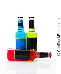 Set wine bottles 1