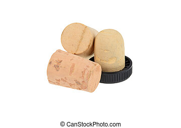 set wine corks