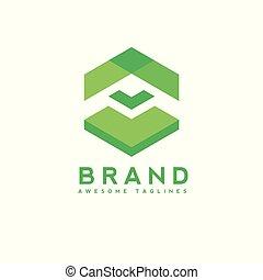 seta, abstratos, logotipo, negócio, cima