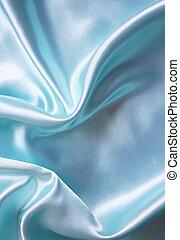 seta blu, fondo, liscio, elegante