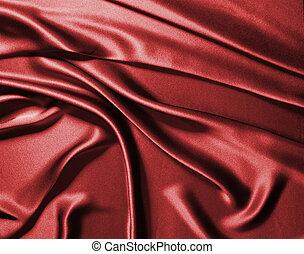 seta, rosso