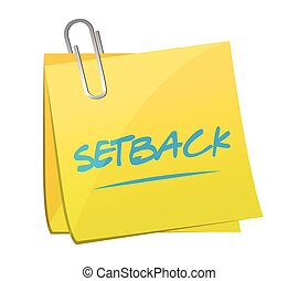 setback memo post illustration