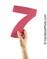sete, Número
