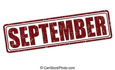 setembro, selo