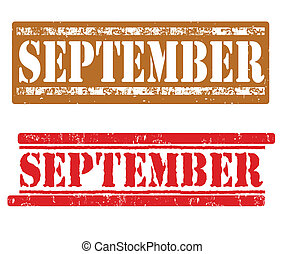 setembro, selos