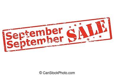 setembro, venda