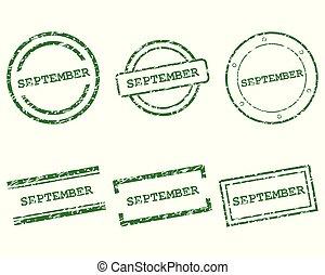 settembre, francobolli