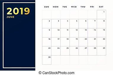 Calendario Mese Giugno.Parola Orario Parete Giugno Mese Calendario