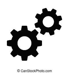 setting glyphs icon