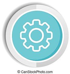 setting icon button