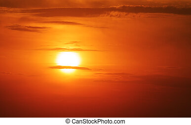 summer sun - setting summer sun, sunset theme for your...