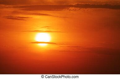 summer sun - setting summer sun, sunset theme for your ...