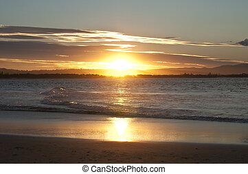 Setting sun - The setting sun
