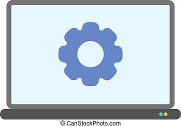 Settings, application, control icon vector image. Can also...