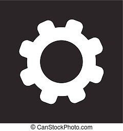 Settings, controls, options icon vector image. Can also be...