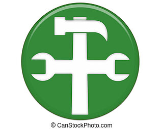 Settings Green Button
