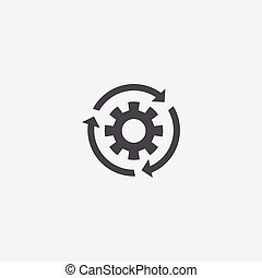 settings reload icon