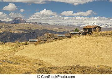 Settlement in Peru