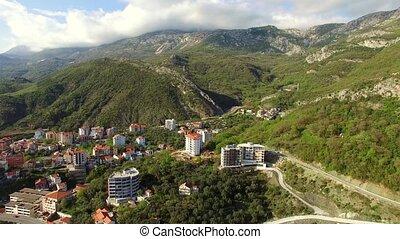 Settlement Rafailovici, Budva Riviera, Montenegro.