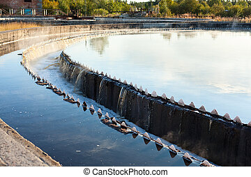 Settler in water treatment plant