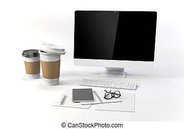 setup, 3d, lapt, render-workplace