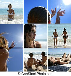 setzen urlaube strand
