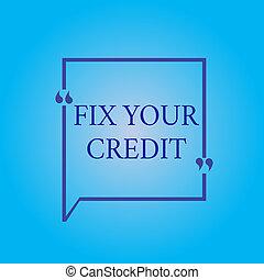 seu, negócio, foto, dificuldade, credit., equilíbrios, nota,...