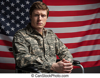 seu, país, veterano, orgulhoso, esperançoso, limitou