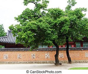 seul, palácio, coréia sul, gyeongbokgung