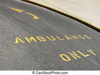seulement, ambulance