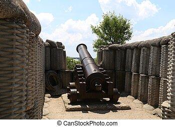 sevastopol, canhão, 1854-1, defesa